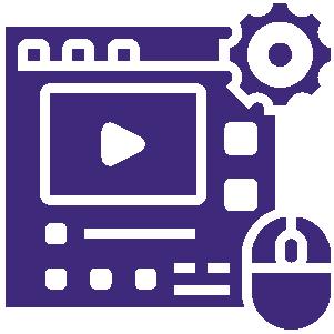 este icono representa el departamento de tecnologia de LISA en la página de empleos, como desarrolladores y programadores